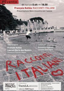 "Presentazione ""Racconti Italiani"" di François Koltès all'Institut Français, Napoli"